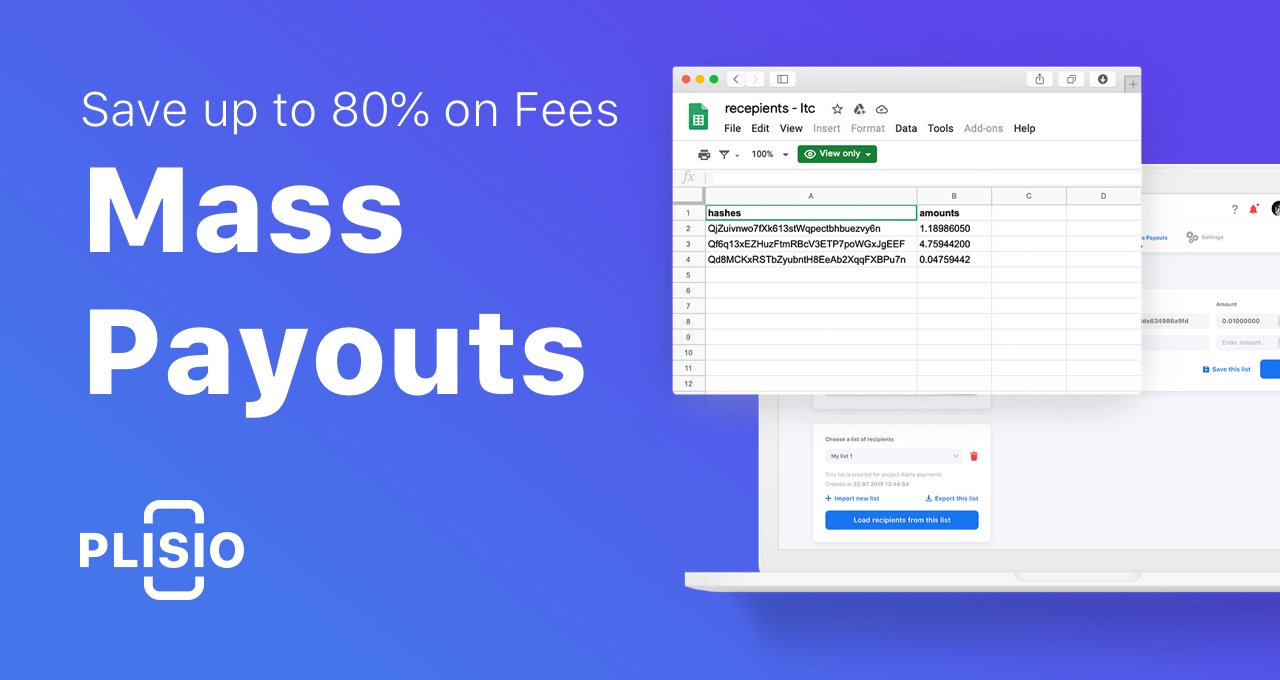 Mass Payouts. Save up to 80% on Fees. Step-by-step guide